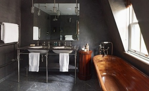 Looks We Love Masculine Bathrooms
