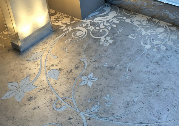 Unique flooring ideas for your city pad for Cool floor designs