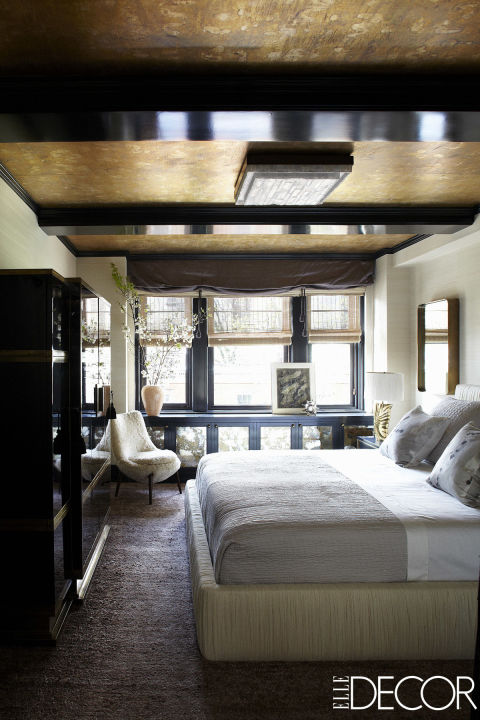 NYC celebrity homes bedroom