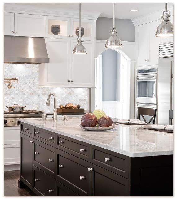 25 stylish kitchen tile backsplash ideas - myhome design