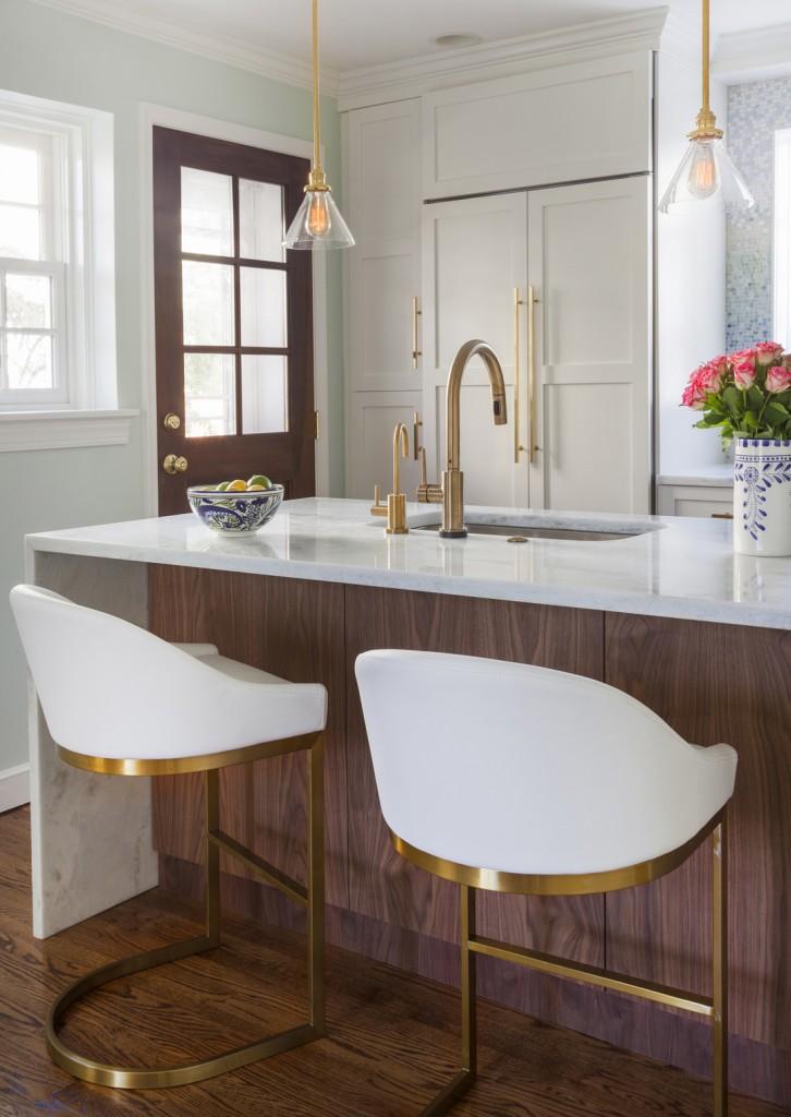 Kitchen Design Trends 2015 Luxe Metallics Myhome Design