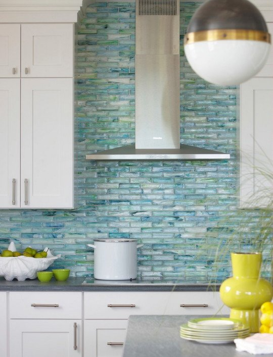 25 stylish kitchen tile backsplash ideas – myhome design + remodeling