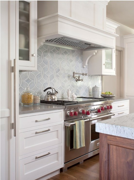 Mosaic Pattern Kitchen Tile Backsplash