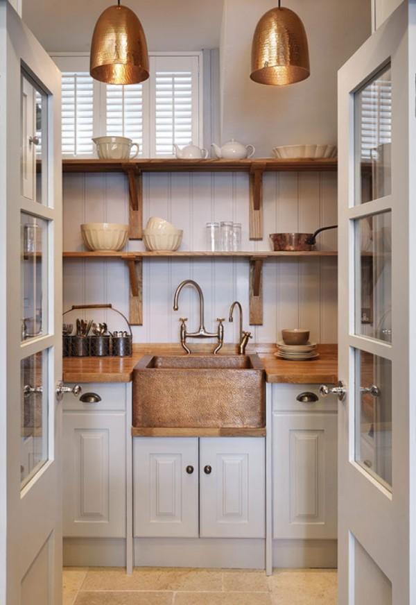 Kitchen Design Trends 2015 Luxe Metallics