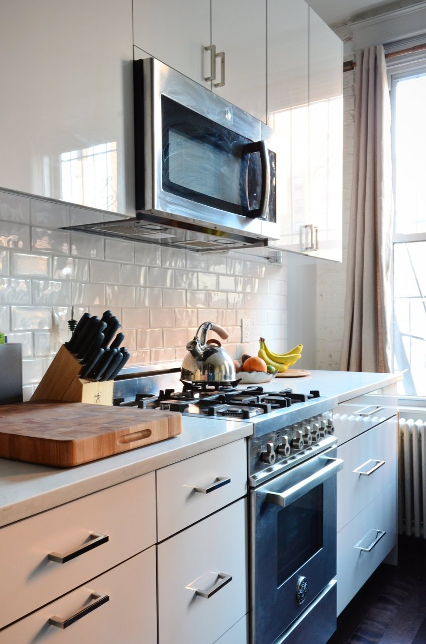 Small Kitchen Design Nyc small apartment makeover – myhome design + remodeling