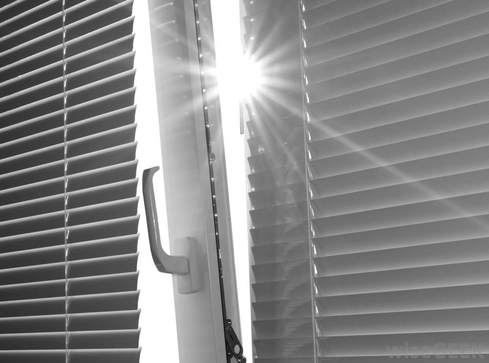 light-shining-through-window-blinds