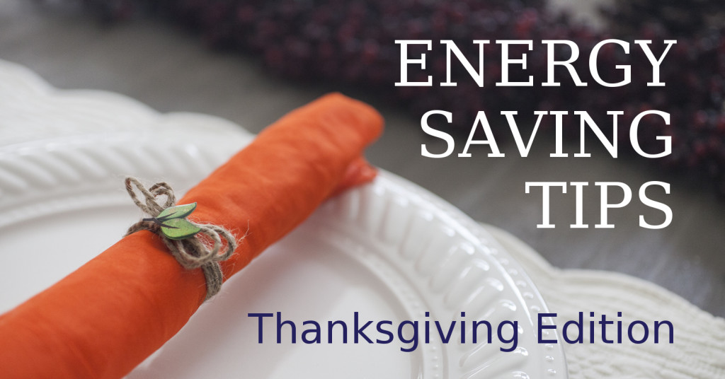 Energy Savings Tips for Thanksgiving by MyHomeUS.com