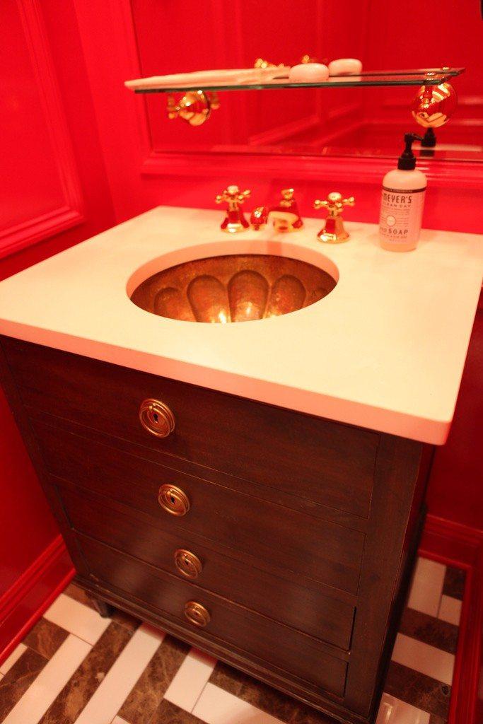 NYC Trends: Bathroom Vanities   Modern Rustic Bathroom Vanity. Bathroom  Remodel By MyHome Design
