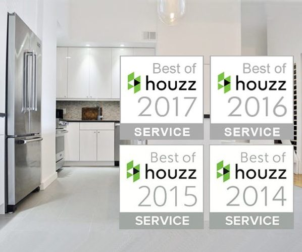 Houzz Awards MyHome with Best Of Customer Service Four Years Running