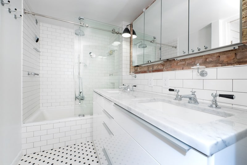 Design Tips for Using Checkered Tile in Kitchen and Bathroom