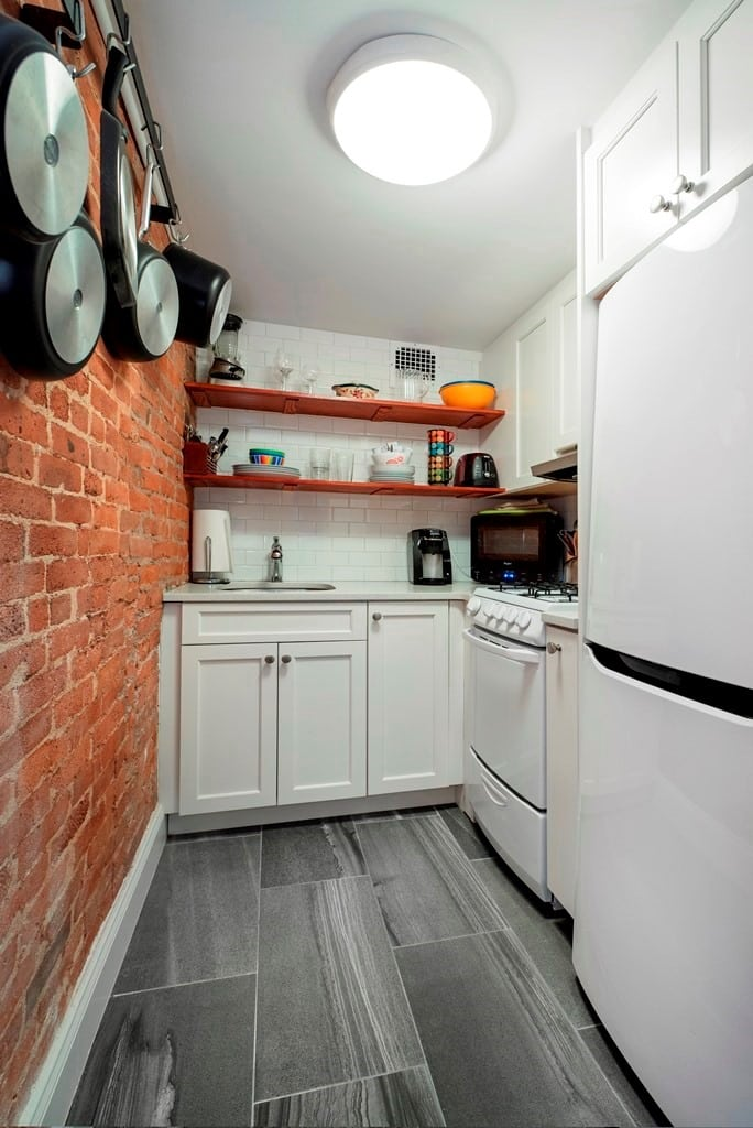 Ways to Add Style to Your Narrow Kitchen