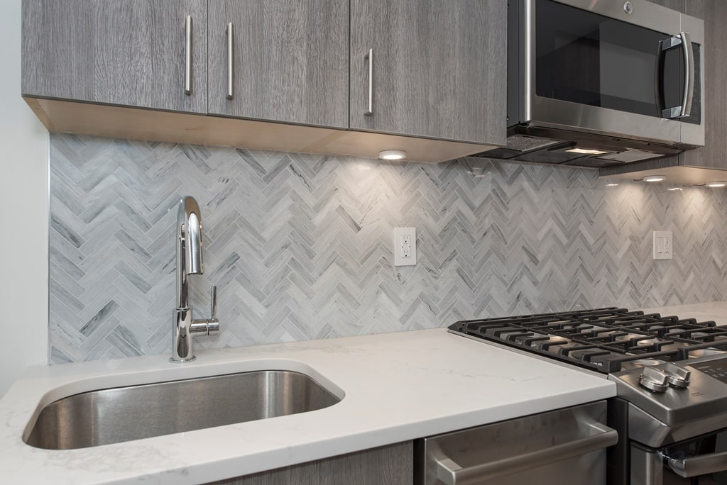 How to Use Herringbone to Sophisticate Your Space