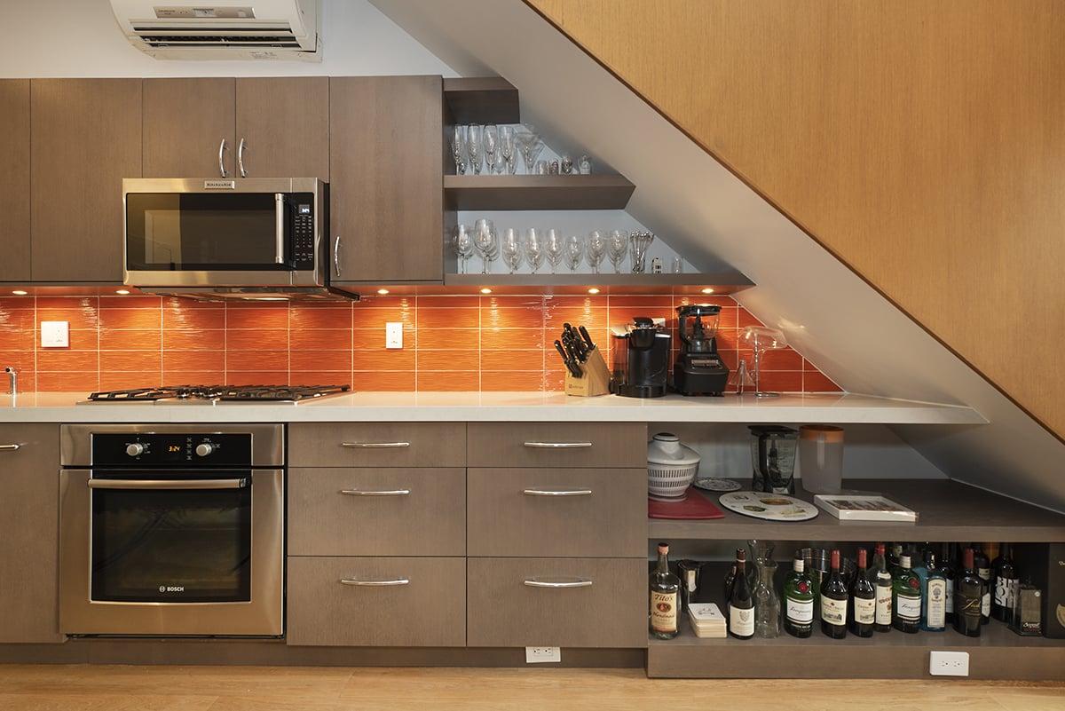 Custom Frameless Kitchen Cabinets