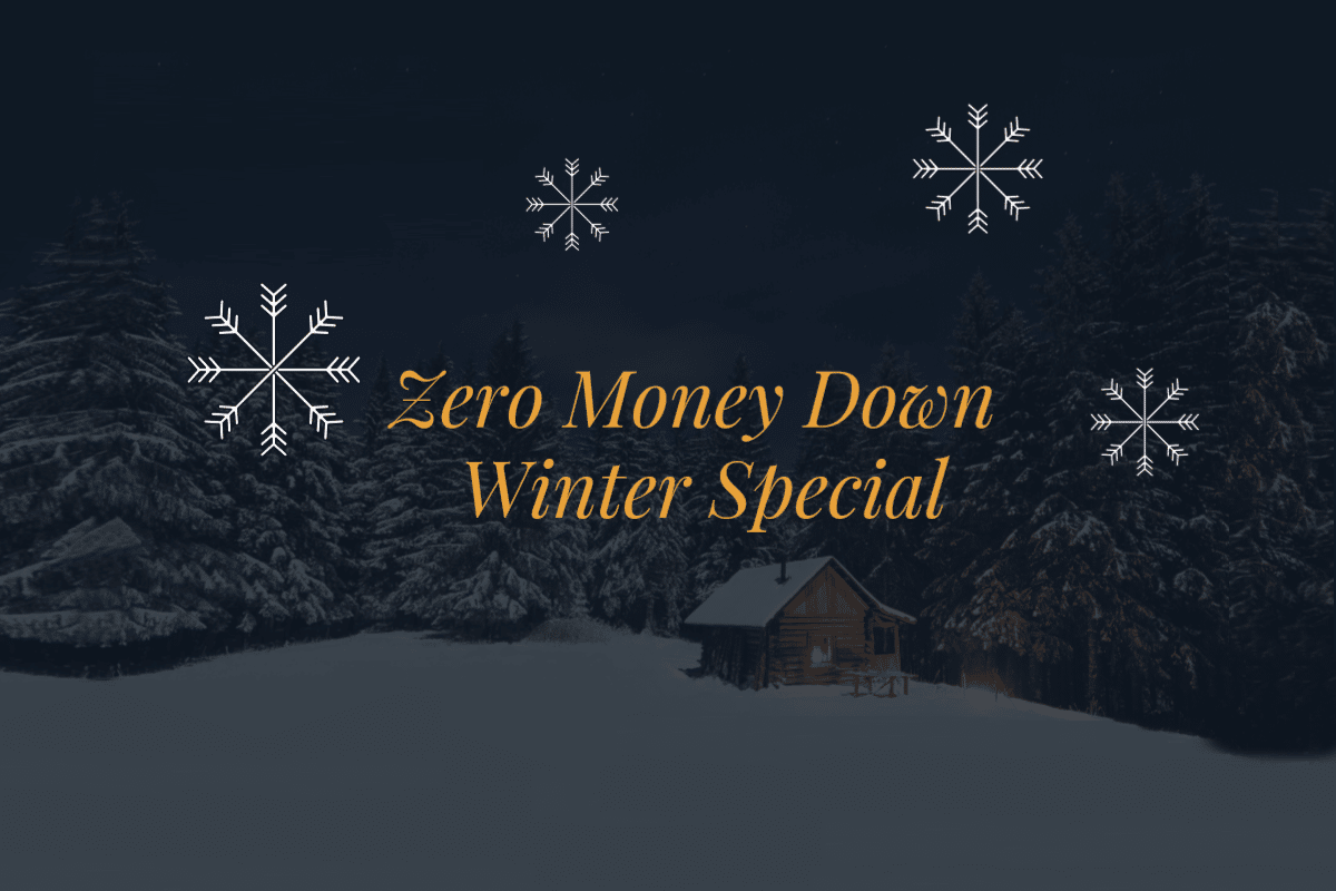 New Winter Remodeling Special – Zero Money Down!