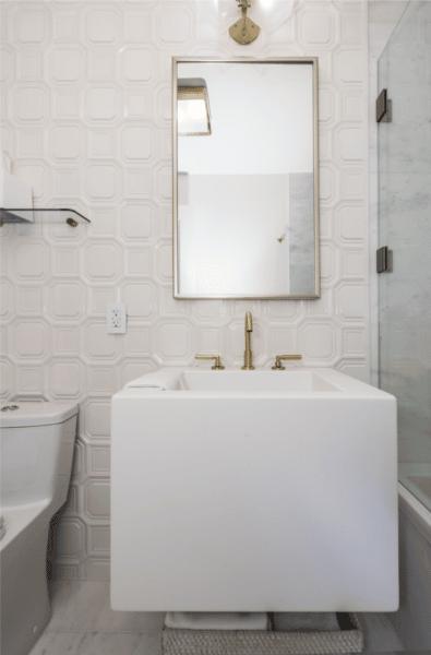 Nude Toned Bathrooms