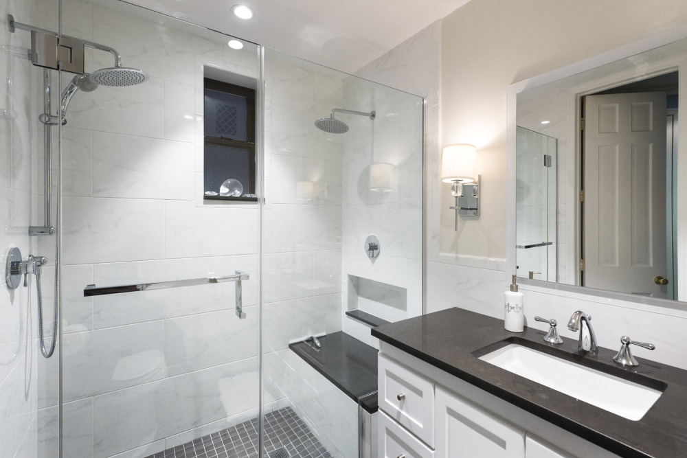Magnificent Average Cost Of Bath Fitters Huge Dual Bathroom Sink Round Ugly Bathroom Tile Cover Up Mirror For Bathroom Walls In India Old Gray Bathroom Vanity Lowes FreshHome Depot Bath Renovation 410 East 73rd Street \u2013 MyHome Design   Remodeling